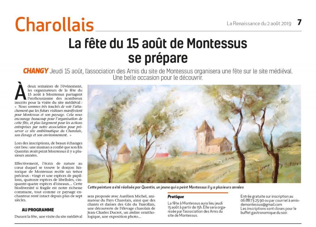 article Renaissance 2 aout jpeg